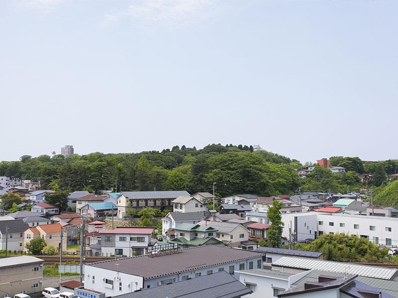 秋田市の眺望