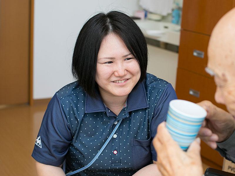 介護士の写真