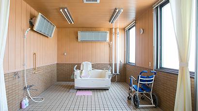 座位式特殊浴槽